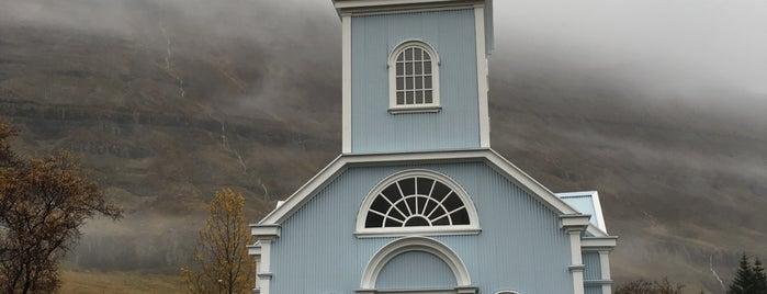 Seyðisfjörður is one of Iceland.