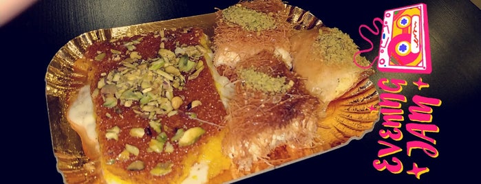 Khan Kunafa is one of Riyadh Cafes.