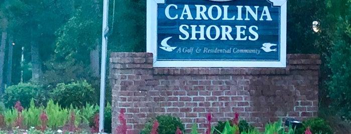 Carolina Shores is one of North Carolina Places.