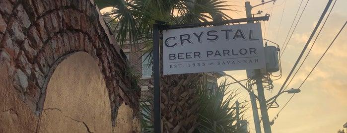 Crystal Beer Parlor is one of Savannah, GA.