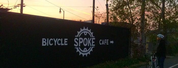 Spoke Bicycle Cafe is one of Lugares favoritos de Richard.