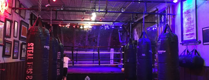 Overthrow Boxing NYC is one of Tempat yang Disukai Yelena.