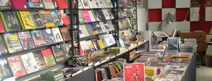 Artazart Design Bookstore is one of Paris in April.