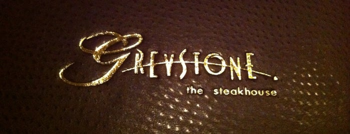 Greystone Steakhouse is one of San Diego 2013.