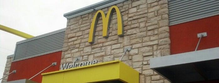McDonald's is one of Dylan : понравившиеся места.