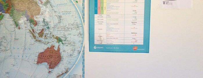 Rosebank Travel Clinic is one of Ilse'nin Beğendiği Mekanlar.