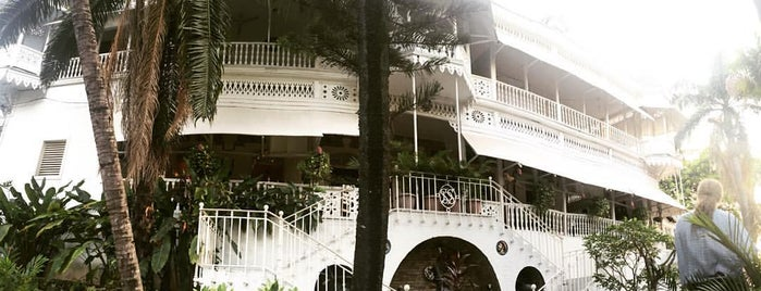 Hotel Oloffson is one of Haïti/Ayiti.