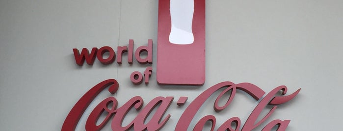 Coca Cola Factory is one of Future sites.