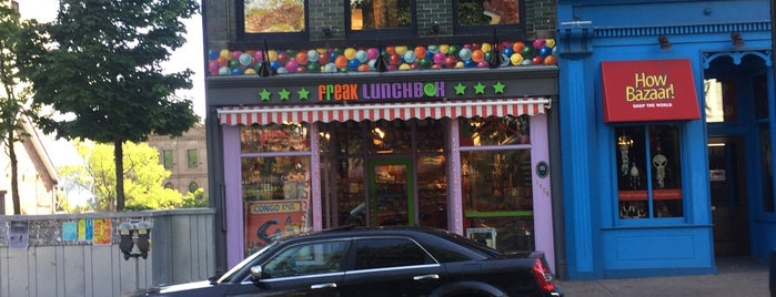 Freak Lunchbox is one of Halifax To-Do.