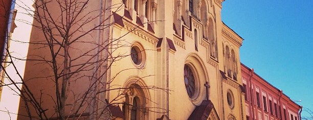 Evangelical Lutheran Church of Saint Katarina is one of Sights in Saint Petersburg & suburban places.