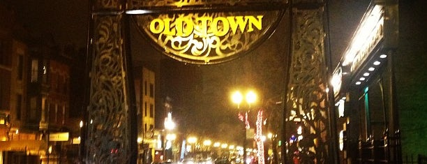 Old Town is one of IL.
