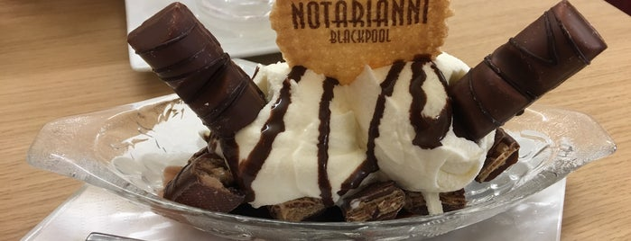 Notarianni Ices is one of Classic UK ice cream spots.