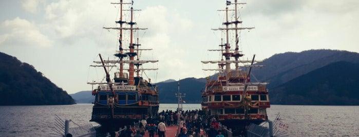 Hakone Sightseeing Cruise is one of Arie'nin Beğendiği Mekanlar.