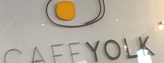 Café YOLK is one of Locais curtidos por Richard.