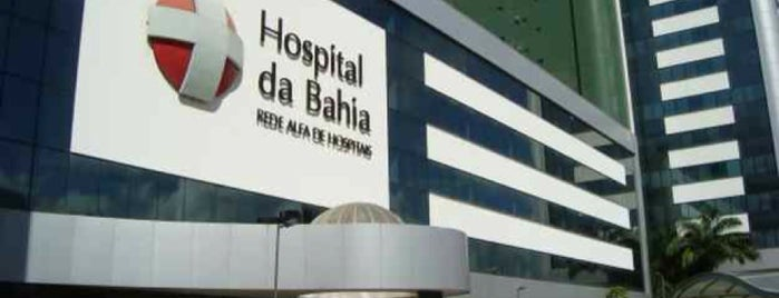 Hospital da Bahia is one of Tempat yang Disukai Waldyr.