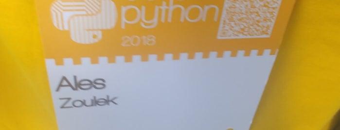 Europython 2018 is one of Orte, die Davide gefallen.