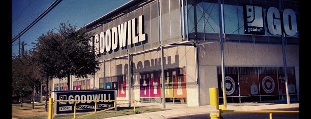 Goodwill is one of Austin.