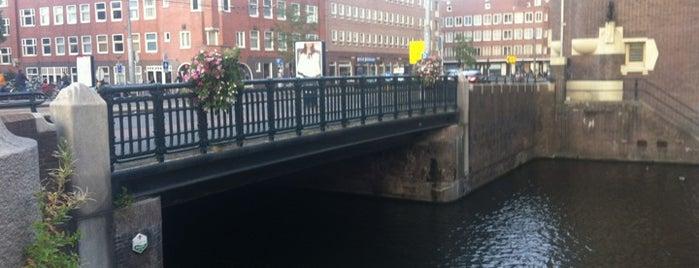 Machineslootbrug (Brug 358) is one of Amsterdam.