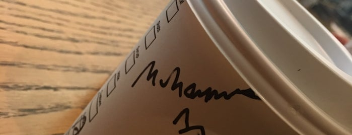 Starbucks is one of Lugares favoritos de Mennan.