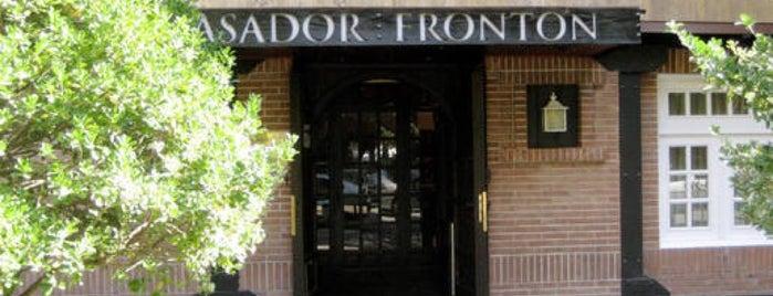 Asador El Frontón is one of Recomendables.