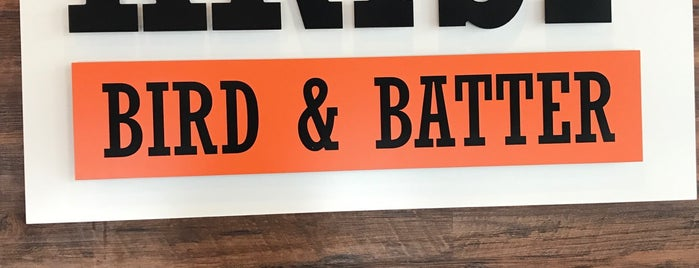 Krisp Bird & Batter is one of Houston.
