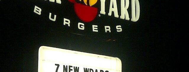 Backyard Burgers is one of Lugares guardados de Abe.