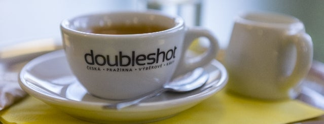 Kavárna Pohodička is one of Kde si pochutnáte na kávě doubleshot?.