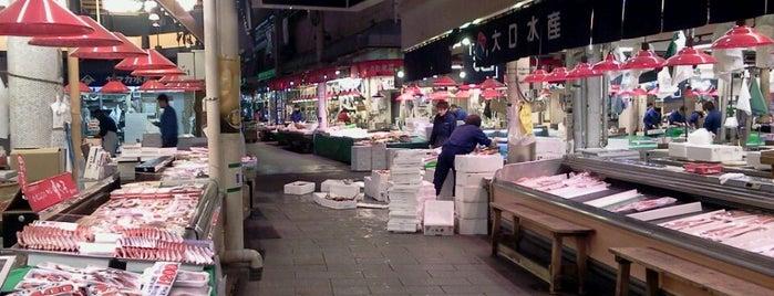 近江町市場 is one of Japan - Kanazawa.
