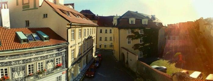 Jánský vršek is one of Prag.
