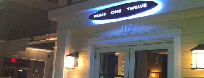 Prime One Twelve is one of Ultimate South Beach List.