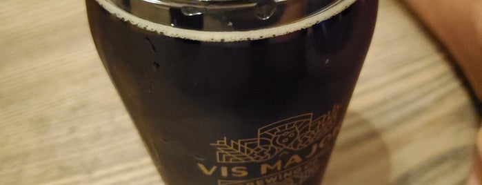 Vis Major Brewing Company is one of Omaha.