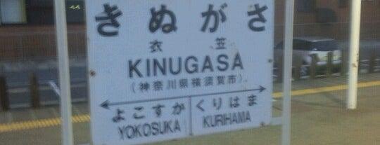 Kinugasa Station is one of JR 미나미간토지방역 (JR 南関東地方の駅).