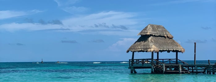 Playa Isla Mujeres is one of Cancun.