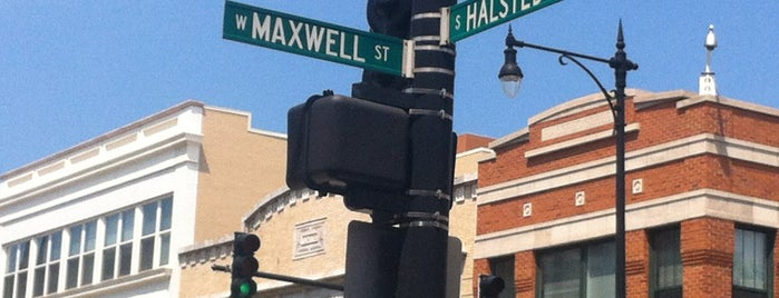 Location of Historic Maxwell Street Market is one of Chicago Blues History.