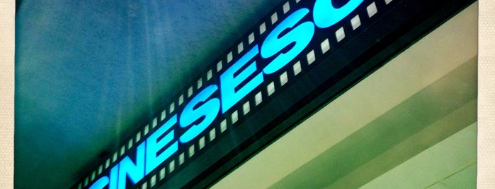 CineSesc is one of PASSEIOS.