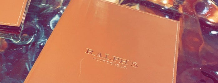 Ralph's Coffee & Bar is one of London.