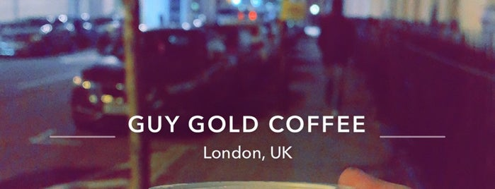 Guy Gold Coffee is one of London.