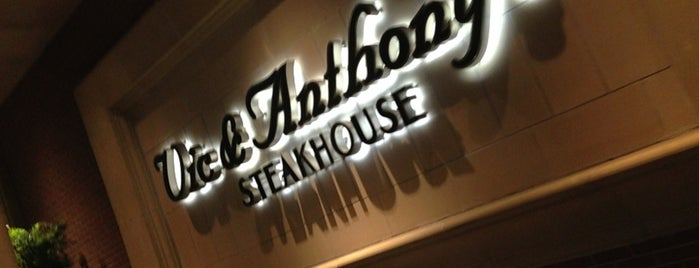 Vic & Anthony's Steakhouse is one of Houston Tx.