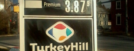 Turkey Hill Minit Markets is one of places we like.