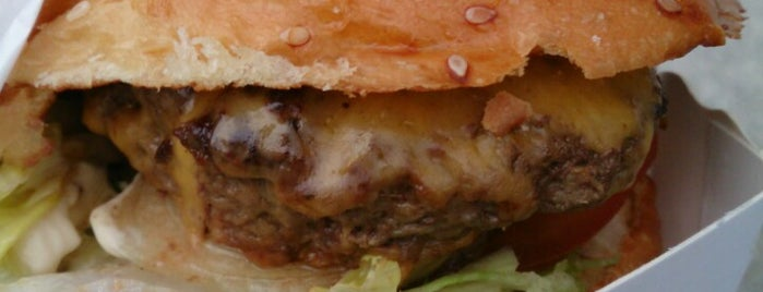 Le Camion qui Fume – BNF is one of Best Burger in Paris.