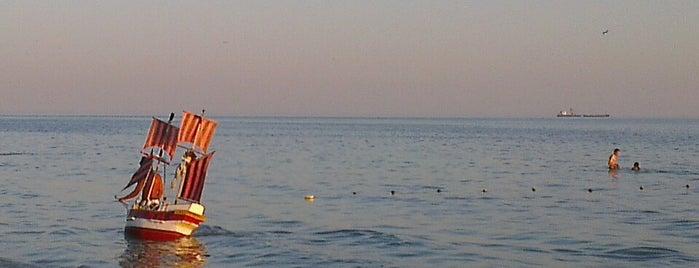 Пляж is one of Oleksandr : понравившиеся места.