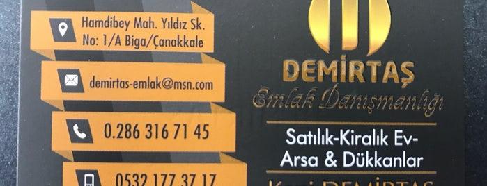 Demirtaş Emlak is one of Locais salvos de isa.