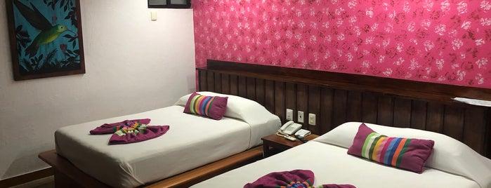 Hotel Chan Kah is one of Tempat yang Disukai Joaquin.