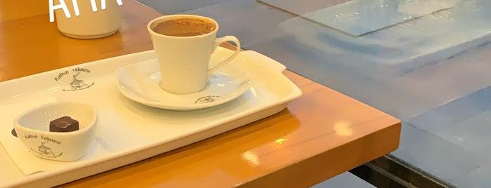Kahve Teknesi is one of Yeşilköy ~ Bakırköy~Beylikdüzü.