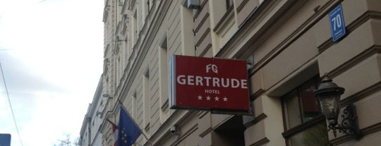 Rixwell Gertrude Hotel is one of OnLine-Traveller.ru.