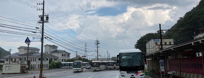 新島々バスターミナル is one of 高井 : понравившиеся места.