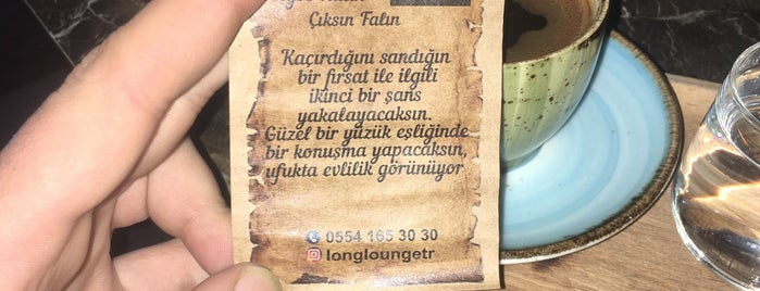 Long Lounge is one of Istanbul.