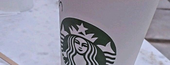 Starbucks is one of Serkan 님이 좋아한 장소.
