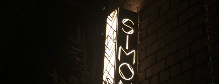 Simone is one of Food places to try.