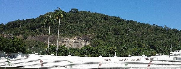 Estádio Manoel Schwartz (Estádio das Laranjeiras) is one of Aqui na terra tão jogando futebol.